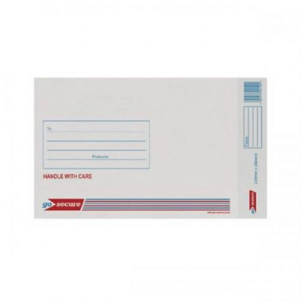Bubble Lined Envelopes - Go-Secure<br>Size: 4 (180x265mm)<br>Pack of 100